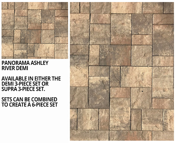 cc871cc85875 Stop by our outdoor display to view our selection of concrete and clay  pavers.